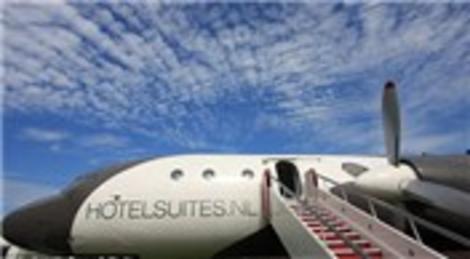 Hollandalı şirketler Sovyetlerin terk ettiği uçakları lüks otele dönüştürüyor!