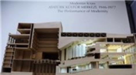 Modernin İcrası: Atatürk Kültür Merkezi 1946-1977 Sergisi Ankara'da açıldı!