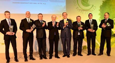 2013 Çevreci Tesis Ödülleri'ne layık görülen 36 tesisin ödülünü Erdoğan Bayraktar verdi!