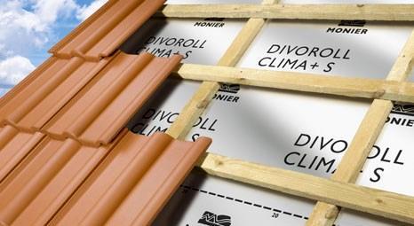 Braas Divoroll Clima+S, çatılarda su yalıtımını enerji tasarrufuna dönüştürecek!