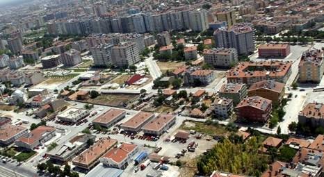 Konya Meram'da icradan satılık daire ve samanlık!