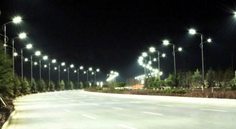 LED sokak lambalarıyla 2 milyar dolar tasarruf sağlanacak!