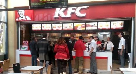 KFC İzmir Bornova AVM'de yeni restoran açtı!
