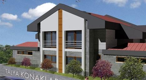 Talya Konakları Zekeriyaköy'de 1 milyon dolara müstakil villa!