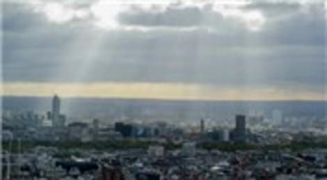 BT Tower'ın tepesinden çekilen panoramik fotoğraf Londra'yı 360 derece gösteriyor!