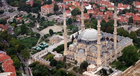 Edirne Selimiye Camisi peyzaj çalışmalarıyla gül bahçesine dönecek!