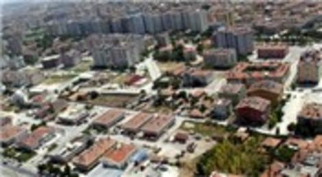 Konya Büyükşehir Belediyesi konut ve ticari imarlı 7 arsa satıyor! 26 milyon 750 bin liraya!