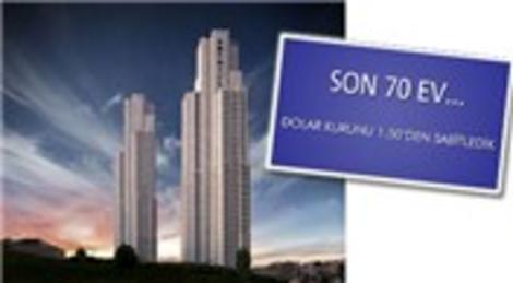 Anthill Şişli Rezidans'ta son 70 daire! 695 bin dolara 2+1!
