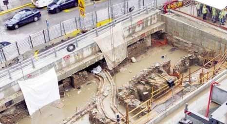 Selanik'teki metro kazılarında yüzlerce yıllık eserler bulundu!