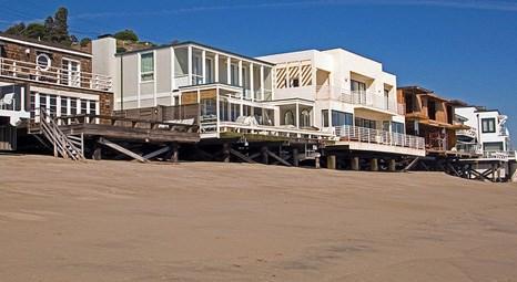 Malibu Carbon Plajı'ndaki evler 45 milyon lira! Ünlü şirketlerin sahipleri yazlık olarak kullanıyor!