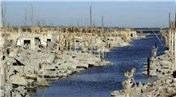 Arjantin'deki boğulmuş kent 25 yıl sonra su yüzüne çıktı!