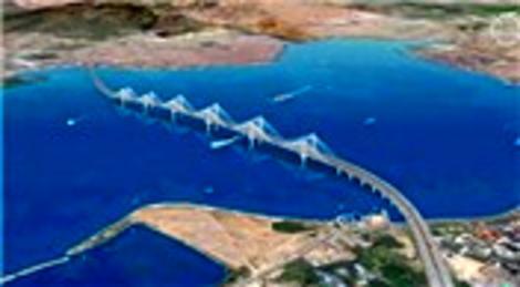 İzmit Körfezi'ne yapılacak olan köprünün ayakları Nisan ayında denize çakılacak!