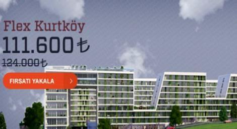 Dumankaya Fırsatları! Flex Kurtköy'de 111 bin 600 TL'ye!
