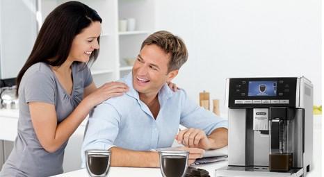 De'Longhi Esam Kahve Makinesi ile keyifle içilecek kahveler hazırlayın!