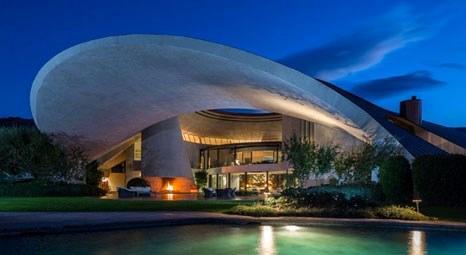 İngiliz ünlü komedyen Bob Hope, UFO'ya benzeyen evini 50 milyon dolara satışa çıkardı!