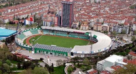 Bursaspor'un eski stadı yıkılacak yerine büyük bir meydan yapılacak!