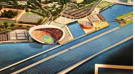 2020 Olimpiyat Oyunları için Haydarpaşa'ya yeni stadyum önerisi!
