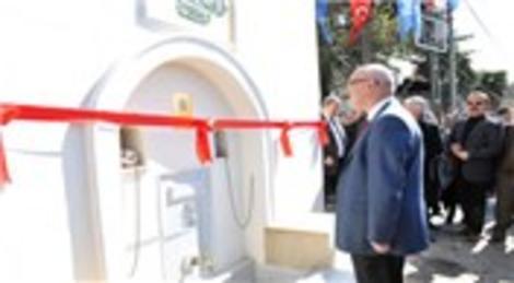 Beykoz'daki tarihi Safiye Sultan Çeşmesi suyuna kavuştu!