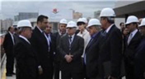 Ataşehir'de inşaatı devam eden İstanbul Finans Merkezi Arap yatırımcıları ağırladı!
