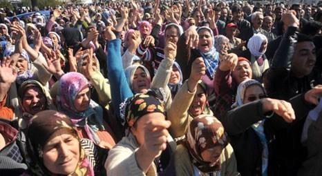 2B arazisi rayiç bedellerinin düşürülmesini isteyen Muğlalı köylüler eylem yaptı!