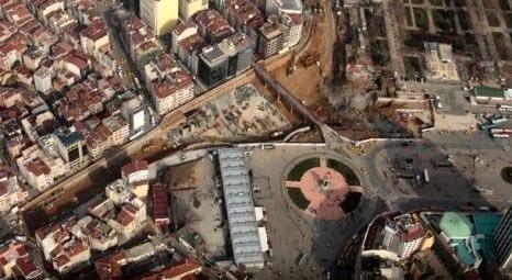 Taksim Meydanı Yayalaştırma Projesi'nin yüzde 50'si tamamlandı!