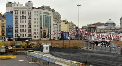 İşte Taksim'in son hali!