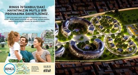 Rings İstanbul konuklarını mutlu hayat provasına davet ediyor!