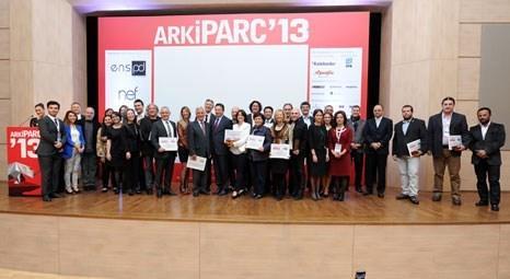 ArkiPARC 2013'te Gayimenkul Ödülleri sahiplerini buldu!