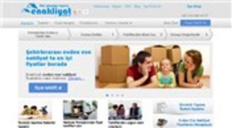 Ev taşımak isteyenler internet üzerinden e-nakliyat ihalesi ile fiyat alıyor!