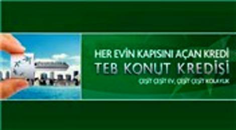 TEB'den konut kredisi kampanyası! Yüzde 0.72'den başlayan oranlarla!