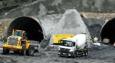 Ilgaz Tüneli'nde 8 ayda bin 320 metre kazı yapıldı!