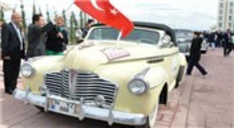 NG Güral Sapanca Welness ve Convention Otel'de klasik otomobil rallisi yapıldı!