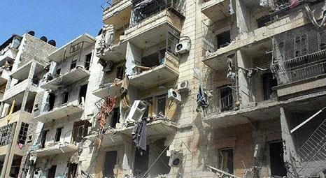 Halep, Esed ordusu ile muhalifler arasında harabe kente döndü!