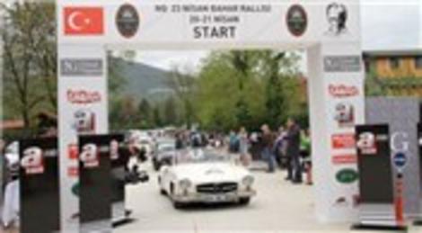 NG Güral, Sapanca Klasik Otomobil Bahar Rallisi'ne ev sahipliği yaptı!
