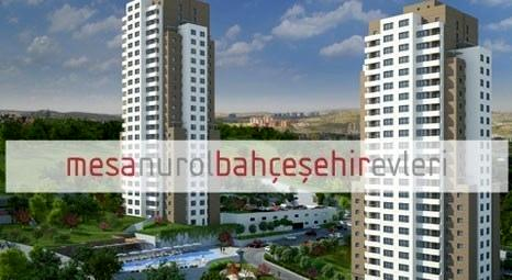 Mesa Nurol 4. Etap Bahçeşehir'de 482 bin TL'ye 4+1! Oturuma hazır!