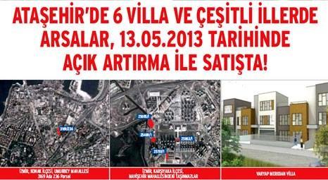 Emlak Konut GYO, İstanbul, İzmir, Ankara, Kastamonu'da 44 arsa ve Varyap Meridian'daki 6 villayı ihale ile satacak!