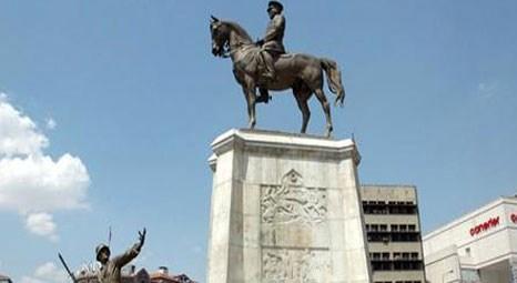 Ankara'nın Ulus semtindeki Atatürk Anıtı çevresinde oturulması yasaklandı!