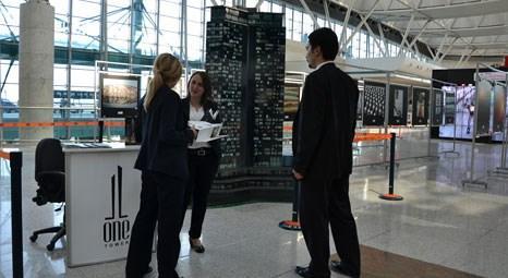 One Tower,  Esenboğa Havalimanı'nda açılan stantta tanıtılıyor!