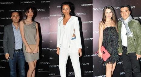 Emporio Armani'nin Anadolu Yakası'ndaki ilk hazır giyim mağazası bir partiyle açıldı!