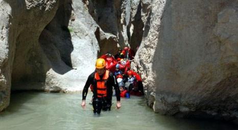 Bilecik Harmankaya Kanyonu, doğa tutkunlarının yeni gözdesi oldu!