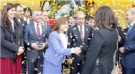 TEB Aile Akademisi Evi'nin açılış törenine Fatma Şahin katıldı!