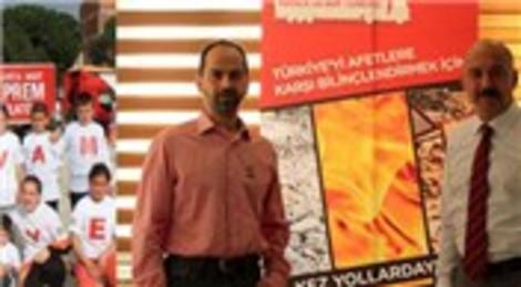 Aksigorta ve AKUT, Bir tırla 3 milyon kişiye depremi hatırlattı!