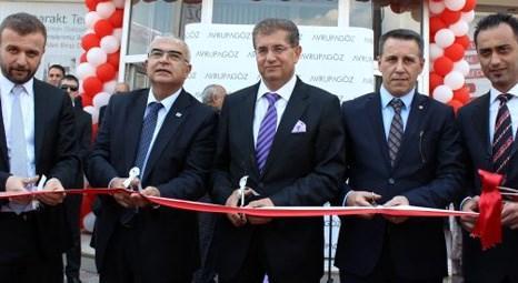 Avrupagöz'ün Tekirdağ Çorlu'daki yeni şubesi hizmete açıldı!