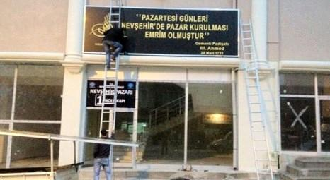 Nevşehir Belediyesi, Peynir Pazarı'ndaki 44 dükkanı satışa çıkardı! 21 bin 450 liradan başlıyor!