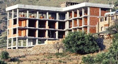 Gökçeada'daki Masi Otel'in inşaatını mahkeme SİT alanı olduğu için durdurdu!