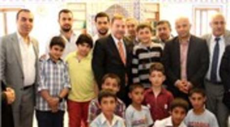 Esenyurt'ta yapılan Mahmut Bahadır Aksa Camii dualarla açıldı!