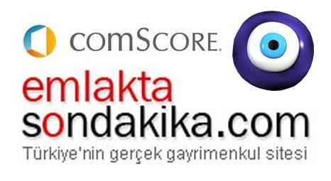 Emlaktasondakika'nın yükselişine comscore.com'dan onay!