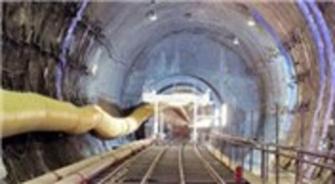 Marmaray Projesi'nin kaba inşaatı bitti! Test sürüşü gelecek ay yapılacak!