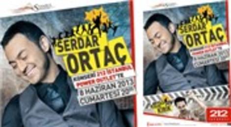 Serdar Ortaç 212 İstanbul Power Outlet'te konser verecek!