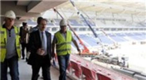 Mersin Arena Stadı 4 ayda tamamlandı, TOKİ yeni bir rekora imza attı!